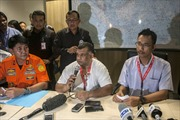 Vật thể trên biển không phải của máy bay QZ8501