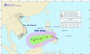 Bão Jangmi đang tiến gần Biển Đông