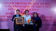 Hà Nội đón khách du lịch quốc tế thứ 3 triệu
