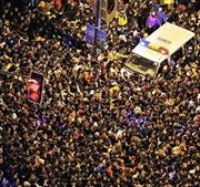 35 người chết vì giẫm đạp đón Năm mới tại Thượng Hải
