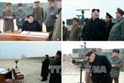 Ông Kim Jong Un thị sát thi bắn súng chống tăng