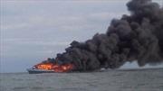 Indonesia tiếp tục đánh chìm tàu cá nước ngoài