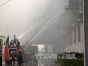 Cháy lớn ở KCN Quế Võ I, Bắc Ninh