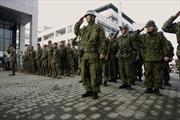 Nhật Bản tinh giản thủ tục động binh trong tình huống 'vùng xám'