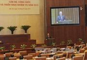 Văn phòng quốc hội triển khai nhiệm vụ 2015