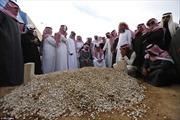 Quốc vương Abdullah được chôn trong mộ vô danh