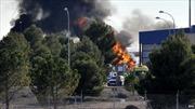 F-16 đâm liên hoàn tại căn cứ NATO, 10 người chết
