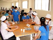 Tiêm vắc xin cho công nhân tại ổ dịch Rubella ở Bình Dương