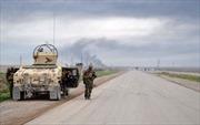 IS đánh bật chiến binh Kurd, chiếm mỏ dầu