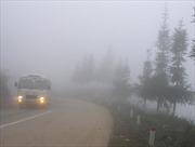 Sương mù bao phủ vùng núi phía Bắc, rét dưới 11 độ C