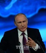 Tổng thống Putin kêu gọi các bên Ukraine ngừng bắn