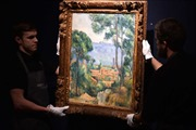 Đấu giá bức tranh hiếm của danh họa Paul Cezanne