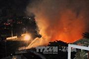 Cháy dữ dội kho nội thất công ty thuộc Bộ Quốc phòng