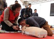 Tập huấn sơ cứu, cấp cứu nạn nhân tai nạn giao thông