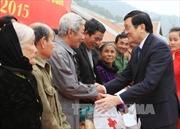 Chủ tịch nước thăm, chúc Tết tại Nghệ An