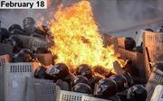 Dòng sự kiện chính biến ở Ukraine qua ảnh