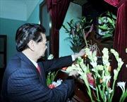 Thủ tướng Nguyễn Tấn Dũng dâng hương tưởng niệm Chủ tịch Hồ Chí Minh