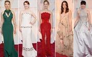 Duyên dáng váy áo tại giải Oscar 2015