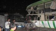 Xe khách tông xe máy, 2 người thiệt mạng