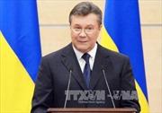 Cựu Tổng thống Yanukovych: Ukraine bị điều khiển từ bên ngoài