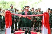 Quân đội Việt Nam tài trợ kinh phí xây bệnh xá cho Campuchia