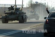 Lugansk đã rút toàn bộ vũ khí hạng nặng