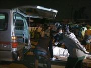 Ô tô tông nhau, ba người nhập viện