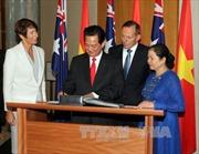 Hoạt động của Thủ tướng Nguyễn Tấn Dũng tại Australia