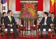 Chủ tịch nước tiếp Chủ tịch Quốc hội Hàn Quốc
