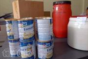 Triệt phá cơ sở sản xuất sữa giả