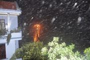 Cảnh báo mưa đá ở vùng núi Bắc Bộ