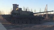 Lộ video xe tăng tân tiến bí mật của Nga