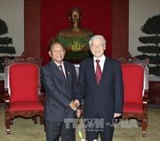 Tổng Bí thư tiếp Chủ tịch Quốc hội Vương quốc Campuchia