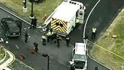 Bắn chết một người lao xe vào trụ sở NSA