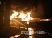 Nhà máy hóa chất Trung Quốc cháy nổ ngụt trời