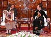 Phó Chủ tịch nước tiếp Tổng Giám đốc Thông tấn xã Campuchia