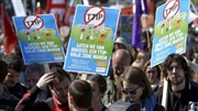 Châu Âu biểu tình phản đối TTIP