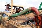 Khai thác cát trái phép đe dọa đường ống dẫn khí