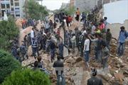 Động đất rung chuyển khắp Nam Á, gần 800 người chết