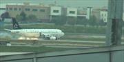 Cháy động cơ, máy bay Thổ Nhĩ Kỳ hạ cánh khẩn