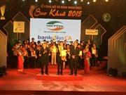 11 phần mềm Viettel đạt danh hiệu Sao Khuê 2015