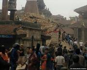 Video cảnh hỗn loạn sau động đất tại Nepal