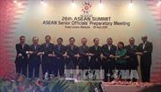Phó thủ tướng Phạm Bình Minh dự tiệc chiêu đãi các Bộ trưởng ASEAN