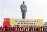 Khánh thành tượng đài Tổng Bí thư Nguyễn Văn Linh