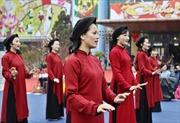 Gắn bảo tồn hát Xoan với tín ngưỡng thờ Hùng Vương
