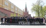 Chủ tịch nước dự lễ kỷ niệm 70 năm chiến thắng phát-xít