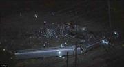 Toàn cảnh tàu hỏa Mỹ trật bánh, 58 người thương vong