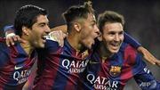 Chờ Barcelona đăng quang