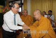 Đồng chí Nguyễn Thiện Nhân chúc mừng Giáo hội Phật giáo Việt Nam