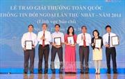 Các tác phẩm đoạt Giải thưởng toàn quốc về thông tin đối ngoại